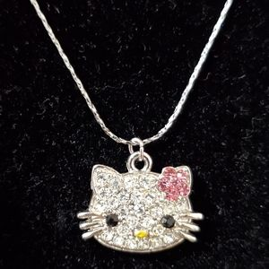 HELLO KITTY NECKLACE, brand new chain